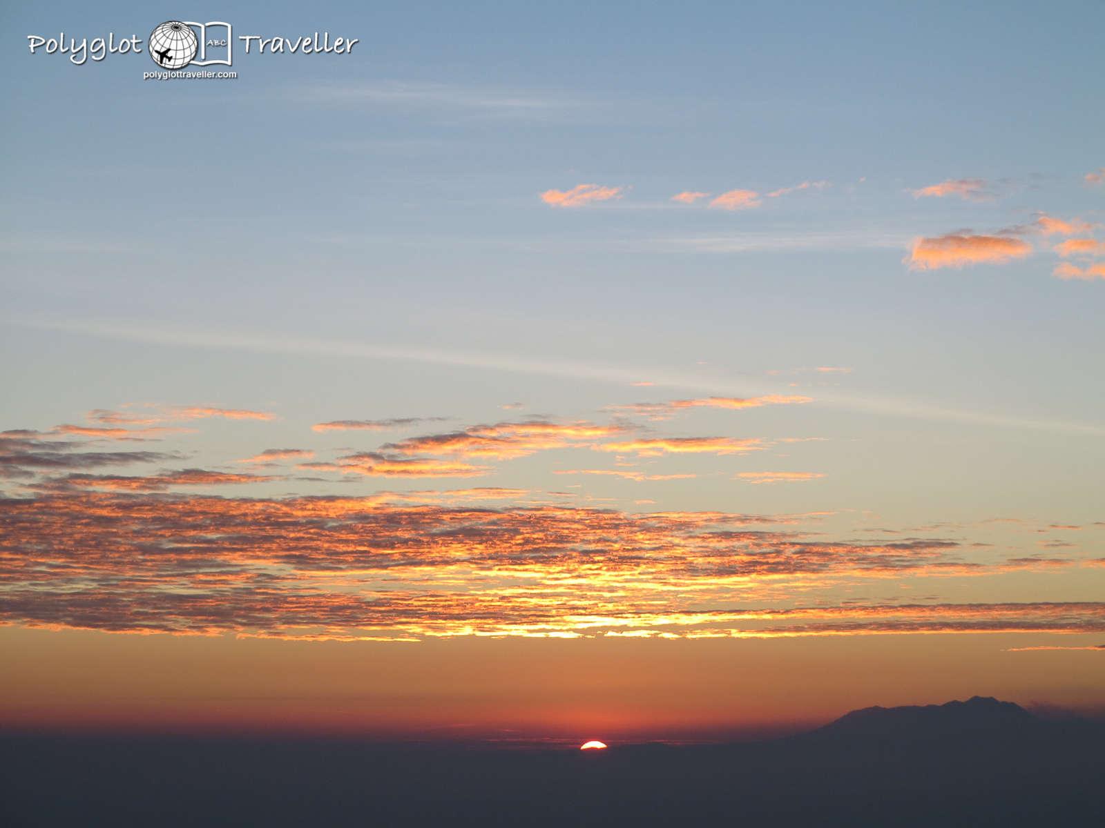 Sunrise says Hello world!