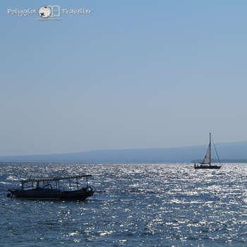 Boote im Meer