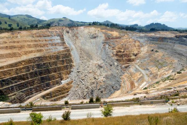 Goldmine in Waihi