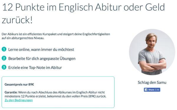 WordDive Englisch-Abitur