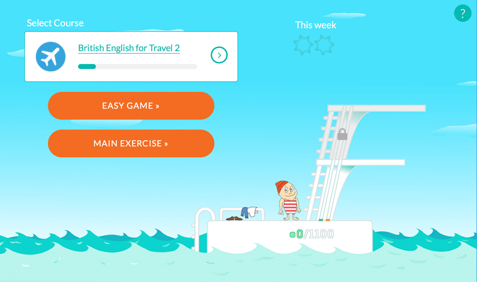 WordDive ladder