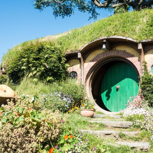 Neuseeland Herr der Ringe - Beutelsend in Hobbiton