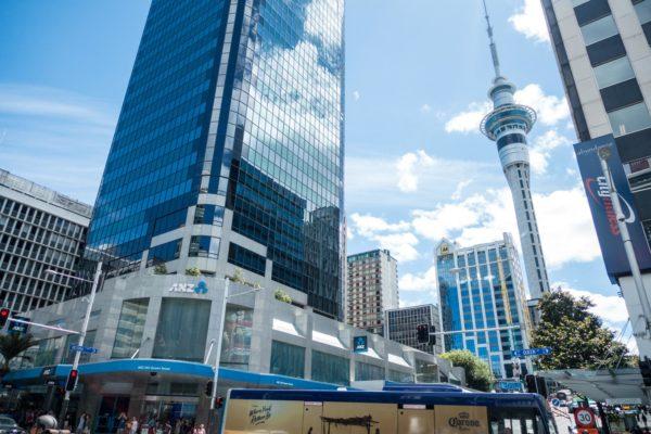 Die Innenstadt von Auckland